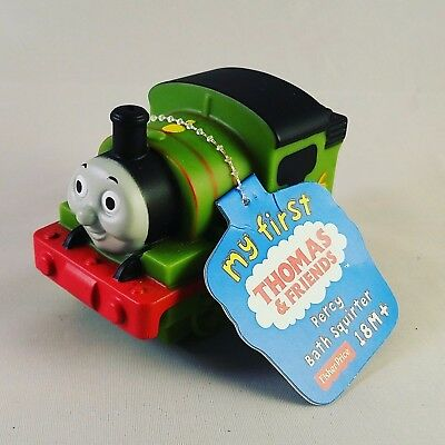 Fisher Price My First Thomas & Friends Bath Squirter - Percy - NWT