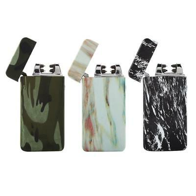 USB Rechargeable Electric Lighter Dual Arc Cigarette Plasma Windproof Flameless