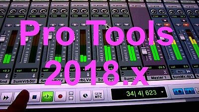 Avid Pro Tools - ProTools 10/11/12 USED PERPETUAL iLOK LICENSE 2018