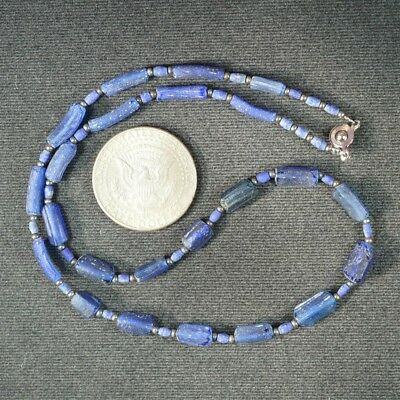 Ancient Roman Glass Beads 1 Medium Strand 100 -200 Bc 0970