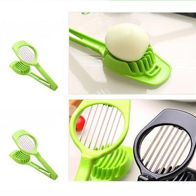 Kitchen Egg Slicer Sectione Cutter Mold Mushrooms Vegetables Slicer Tool 1PC BS