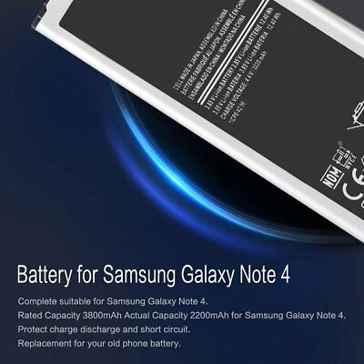 High-Capacity Rechargeable Battery For Samsung Galaxy S3/S4/S5 Note 2/3/4AL