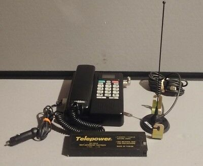 Vintage Uniden CP 1700 Mobile Brick Car Cell Phone w/Antenna