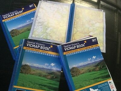 Spatial Vision Map Book South East Region Vicmap Edition 4 Camping 4WD