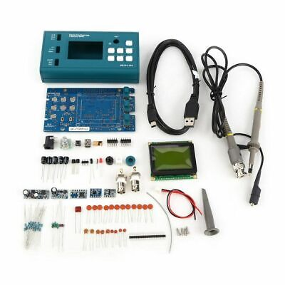 DSO068 3MHz 2Msps 8bit Digital Oscilloscope Disassembled Parts DIY Kit with Prob