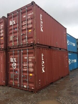 Shipping Containers 20 Ft Used Southampton £1320+Vat  Search Welderjohn13 Online