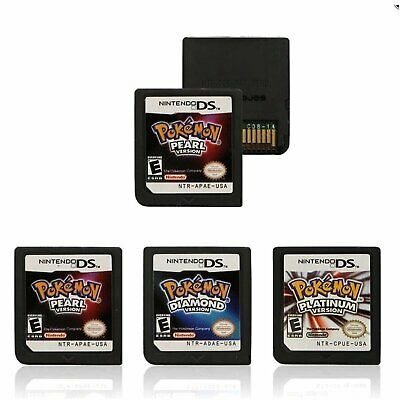 Pokemon Game Card Platinum Pearl Diamond Replace for 3DS/DSI NDS NDSL Lite HOT