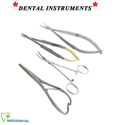 Chirurgical Mosquito Forceps Castroviejo Porte-Aiguille Mathieu Ressort Noyes