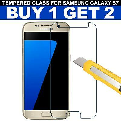 For Samsung Galaxy S7 – 100% Genuine Tempered Glass LCD Screen Protector Clear