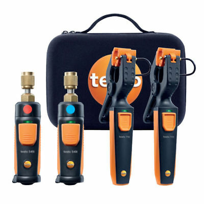 Testo 0563 0002 AC/R Wireless Smart Probes Diagnostic Manifold,Bluetooth