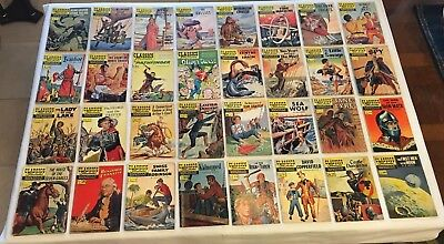 Classics Illustrated Issues YOUR CHOICE of 120 (All U.K. Great Britain) Comics