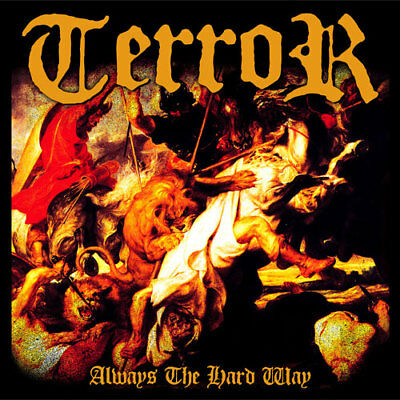 Terror - Always The Hard Way COLORED LP TRAPPED UNDER ICE HATEBREED MADBALL