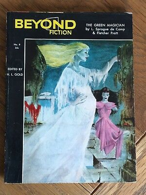 Beyond - US Fantasy digest No.9 1954 - Philip K. Dick - Upon the Dull Earth, etc