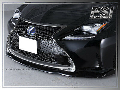 AG Type Carbon Fiber Front Lip For 2015-2018 LEXUS RC200t RC350 F Sport Only