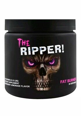 Cobra Labs The Ripper Raspberry Lemonade 30Serves Fat Burner Preworkout Pre