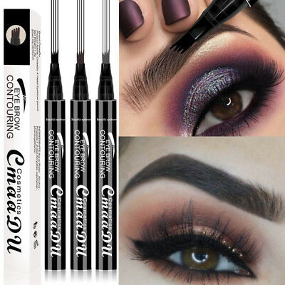 Microblading Tattoo Eyebrow Ink Pen Eye Brow Pencil Brow Enhancer Stencil Charm