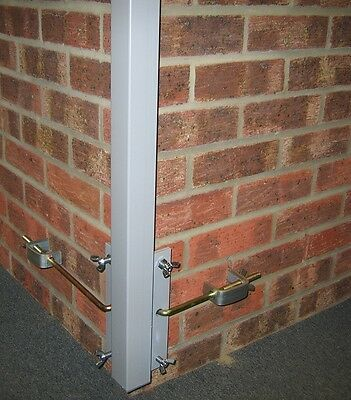 P.T. Profile External Corner 1 pair with fixing kit 2.0m marked with std gauge