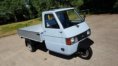 Piaggio APE 212CC Van 2009 Project 1 owner UK V5 Logbook