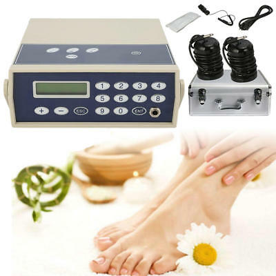 2018 Detox Machine Cell Ion Ionic Aqua Foot Bath Spa Chi Cleanse Fir Belt