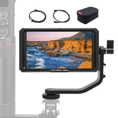 Feelworld Master-5, 5 inch on Camera Field Monitor 4K HDMI 1920x1080 for Gimbal