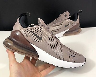 NIKE AIR MAX 270 Sepia StoneBlack Summit White Sz Uk7.5Us8