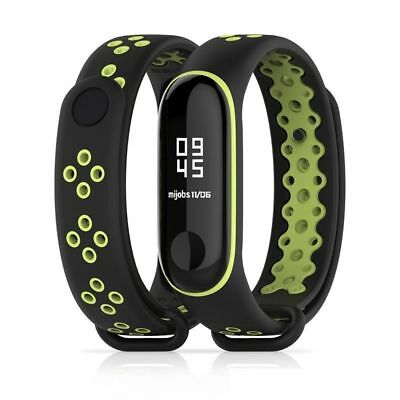 Xiaomi Mi Band 3 Miband 3 Strap Replacement Sport Double Color Silicone Bracelet