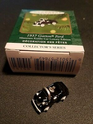 2001 Hallmark Ornament 1937 Garton Ford Miniature