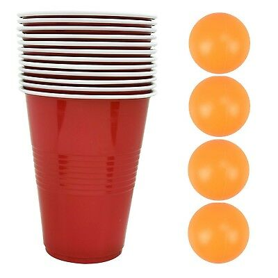 28pc BEER PONG DRINKING GAME SET TOY PUB HOME PARTY FUN DRINKING GAME BEER PONG