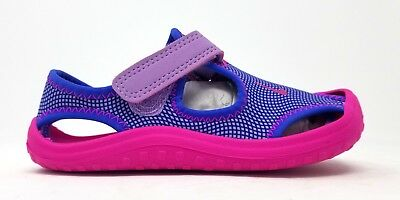 577341938a4a NIKE SUNRAY PROTECT TD sandals sandel new pink 344993 600 girls ...