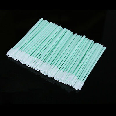 100pcs/lot Dust-Free Cotton Swab Fiber Cleaning Tools Optical Fiber Cleaning Rod
