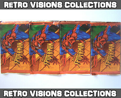 Spider-Man '97 International Trading Cards 1997 - 4 Packs