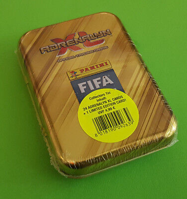 Panini Adrenalyn XL FIFA 365 2019 Mini Tin Box inkl. 1 x Limited Edition