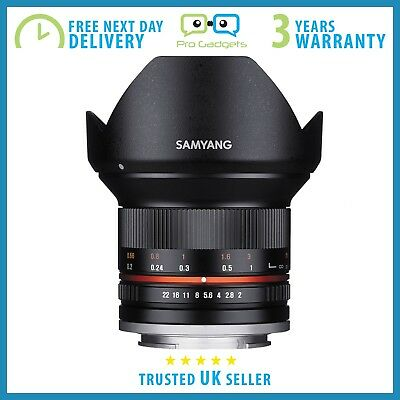 *Mint* Samyang 12mm f/2.0 NCS CS Lens for Sony E-Mount (APS-C) - 3 Year Warranty