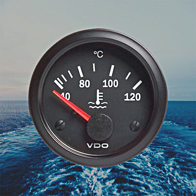 "VDO Water Coolant Temperature Gauge 40-120 Celsius 12V CV 2"" 310-010-012K"