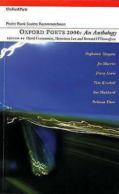Oxford Poets Anthology 2000,Excellent,Books,mon0000096325