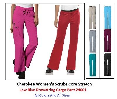 Cherokee Womens Scrubs Core Stretch Pants 24001 All Colors And All Sizes NWT
