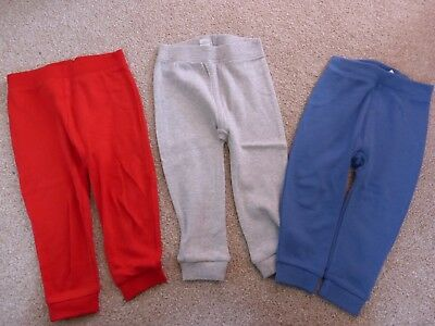 BNWT 3 pairs Boys trousers  size 12-18 mths