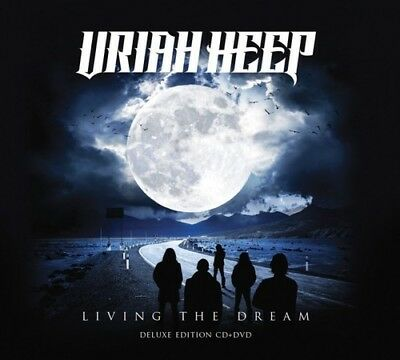 Living The Dream - 2 DISC SET - Uriah Heep (2018, CD NUOVO) 8024391088548
