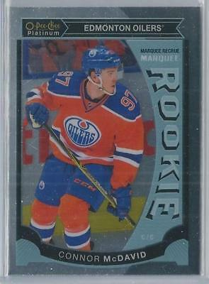 2015-16 O-Pee-Chee Platinum Marquee Rookie Connor Mcdavid Rc!! M1!