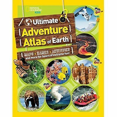 Ultimate Adventure Atlas Of Earth (National Geographic Kids),National Geographic