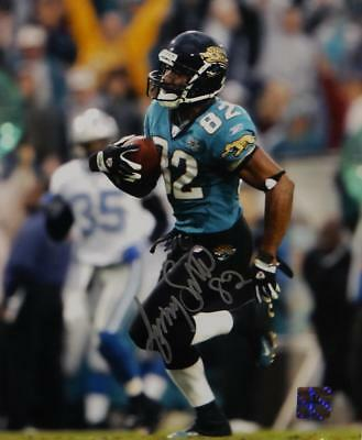 5b48a5bef Jimmy Smith Autographed Jacksonville Jaguars 8x10 Photo- Jersey Source Auth
