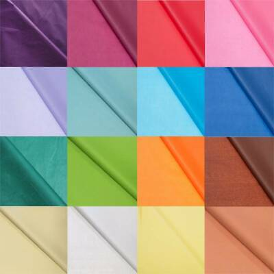 Tissue Paper Present Gift Wrapping Acid Free Quality Sheets 50 x 70cm, 25 Sheets