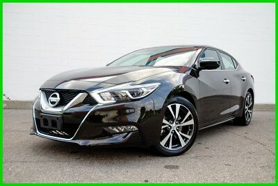 Nissan Maxima 3.5 S w/Leather - Super-Clean - Only13k-Miles - Blk/Blk 2017 Nissan Maxima S - 3.5L 300hp - Blk/Blk - Fast & Fun! - WHOLESALE PRICE