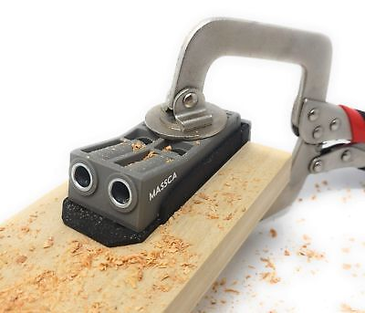 Massca Pocket Hole Jig. Perfect for Joinery Woodworking DIY Carpentry Project...