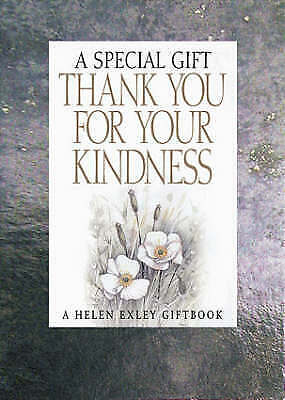 Thank You for Your Kindness: A Special Gift (Spe, Good, Books, mon0000103297