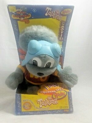 VINTAGE New Boxed The Adventures of Rocky And Bullwinkle Talking Rocky