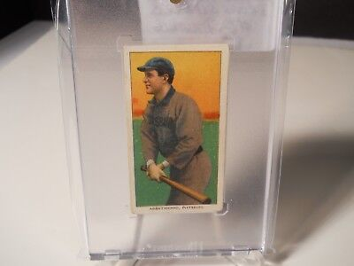 1909 T206 Ed Abbaticchio #2 Pittsburg Brown Sleeves