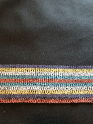 Selvedge Edge 100% Wool Broadcloth 10 Band Trade Cloth Regalia Pow Wow By The YD