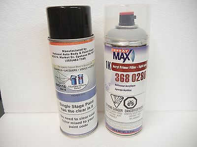 Touch Up Custom Spray Can Paint For Harley Davidson Birch White Av Primer Set