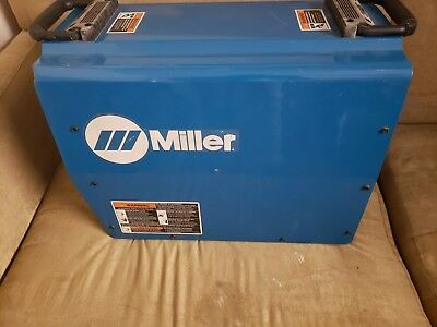 Miller XMT 350VS Multiprocess Welder Autoline